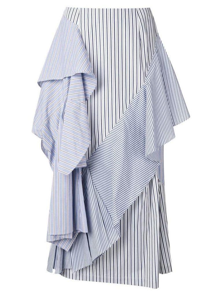 Enföld ruffle stripe skirt - Blue