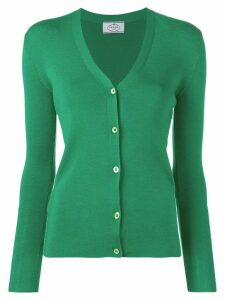 Prada slim fit cardigan - Green