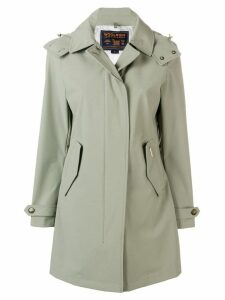 Woolrich hooded midi coat - Green