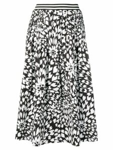 Missoni floral print full skirt - Black