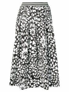 Missoni floral print full skirt - Black