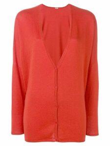 Apuntob knitted cardigan - Red