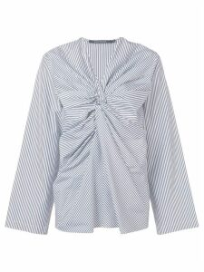 Sofie D'hoore striped knot top - Blue