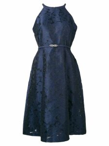 Lauren Ralph Lauren halterneck cocktail dress - Blue