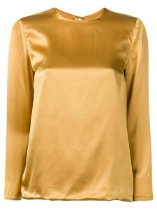 Marques'Almeida back tie fastened blouse - Gold