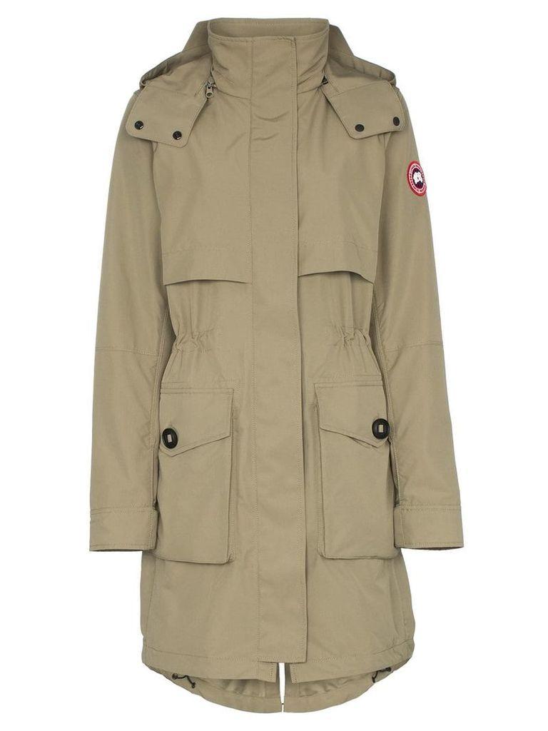 Canada Goose cavalry hooded parka coat - Green
