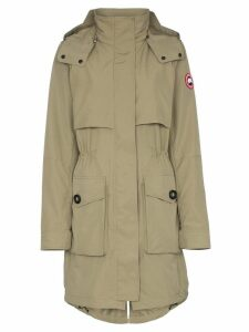 Canada Goose cavalry hooded parka coat - Green