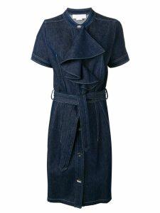 Genny blue denim dress