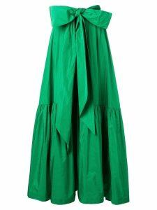 P.A.R.O.S.H. ruffled full skirt - Green