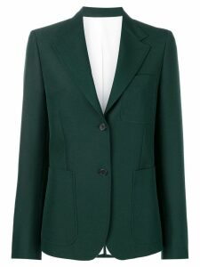 Calvin Klein 205W39nyc patch pocket blazer - Green
