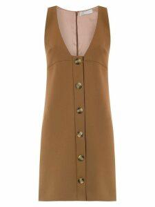 Nk button up dress - Brown