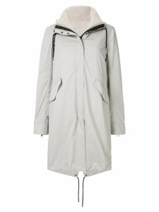Yves Salomon Army Bachette fur lined parka - Grey
