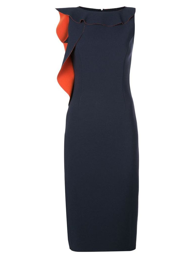 Jason Wu Collection fitted midi dress - Black