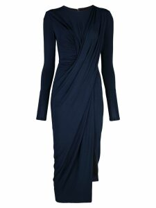 Jason Wu Collection draped midi dress - Blue