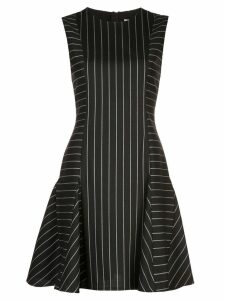 Jason Wu Collection striped flared dress - Black