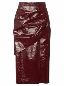 Aleksandre Akhalkatsishvili Gathered high waist pencil skirt