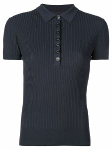 Jason Wu short-sleeve polo top - Blue