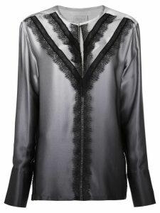 Jason Wu lace-detail blouse - Grey