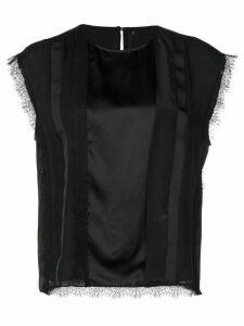 Jason Wu lace-detail blouse - Black