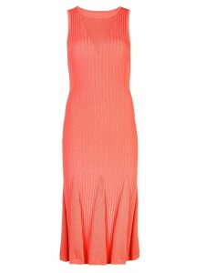Jason Wu sleeveless sweater dress - Orange