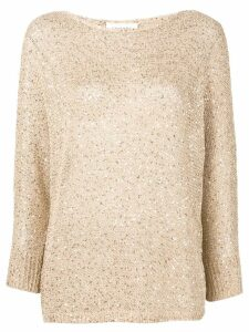 Snobby Sheep sequinned top - Neutrals