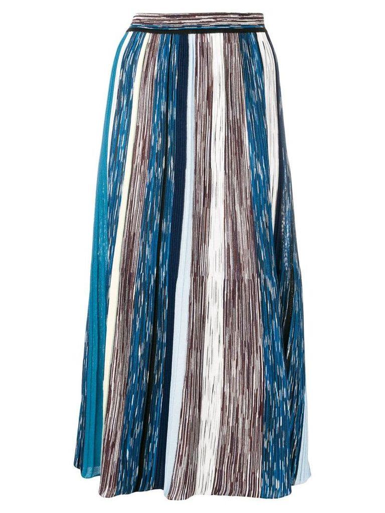 Missoni striped skirt - Blue