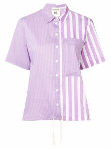 Semicouture multi-striped shirt - Purple