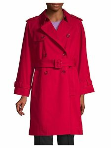 Shruken Cotton Trench Coat