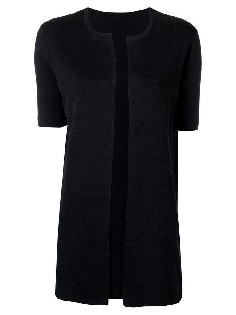 Sottomettimi short-sleeved cardigan - Black