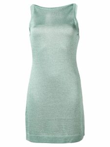Missoni shimmer knit fitted dress - Blue