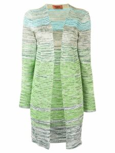 Missoni knitted cardi-coat - Green
