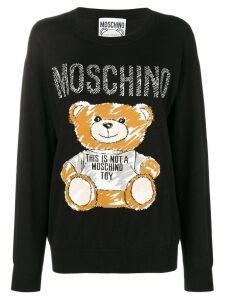 Moschino Teddy Bear sweater - Black