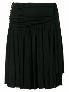 MSGM ruched side skirt - Black