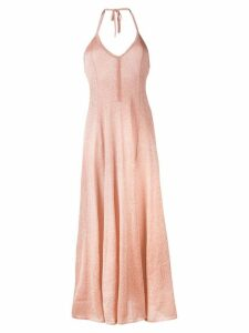 Missoni shimmer flared dress - Pink