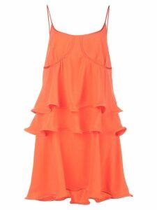 Sies Marjan ruffle detail dress - Orange