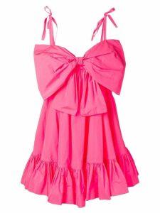 MSGM flared mini dress - Pink