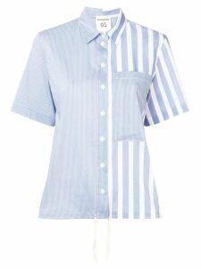 Semicouture striped shirt - Blue