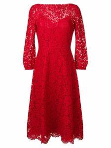 Valentino brocade dress - Red