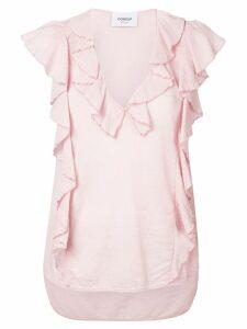 Dondup ruffled blouse - Pink