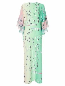 Huishan Zhang Neapolitan dress - Green