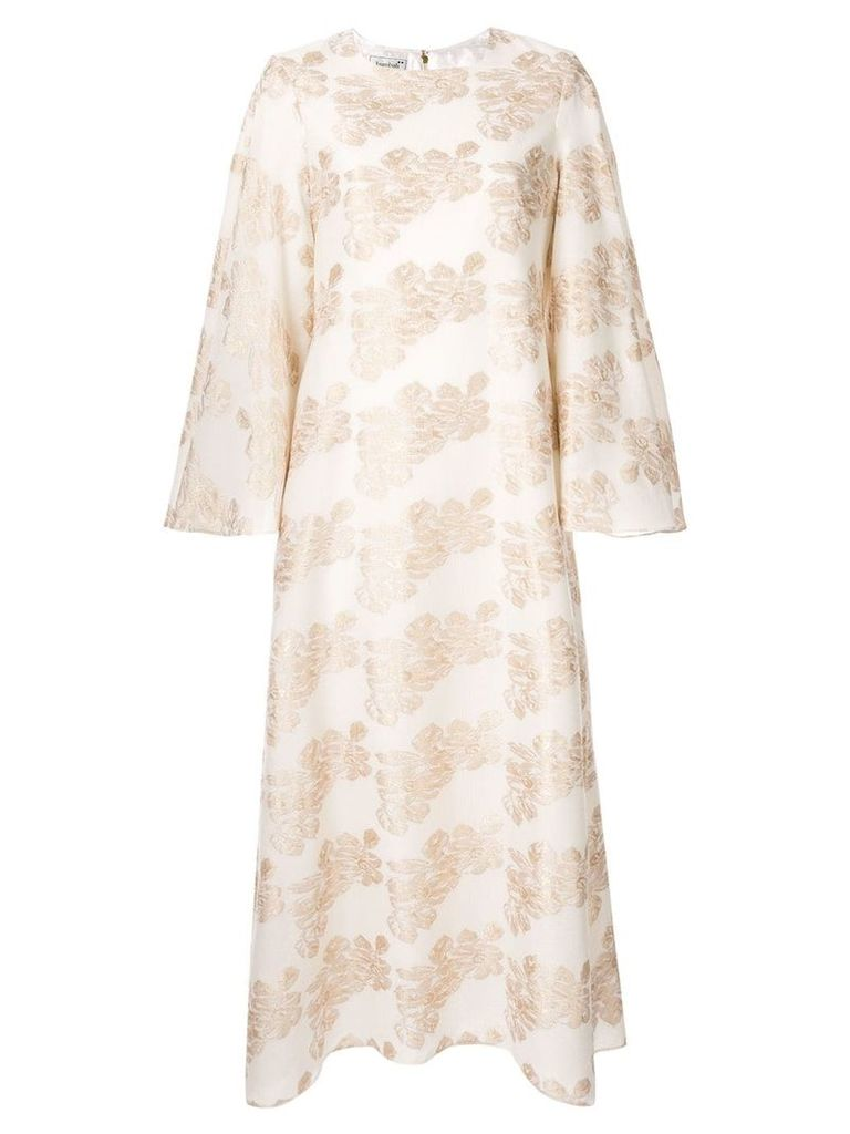 Bambah floral print dress - Neutrals
