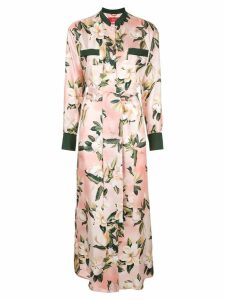 F.R.S For Restless Sleepers floral shirt dress - Pink