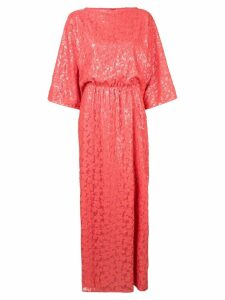 Rami Al Ali sequin embroidered maxi dress - Pink