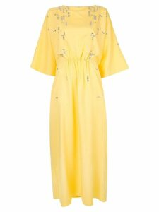 Rami Al Ali sequin embellished maxi dress - Yellow