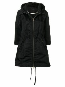Duvetica hooded water-resistant coat - Black