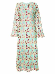 Giamba floral crochet dress - Green
