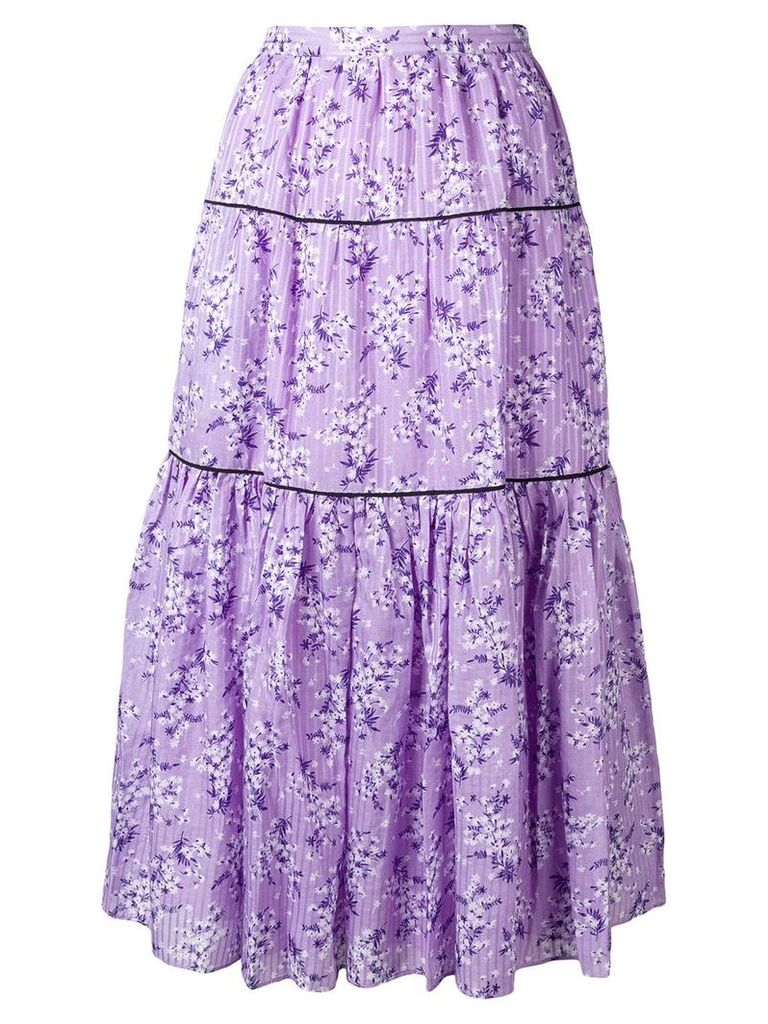 Ulla Johnson Auveline skirt - Purple