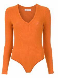 Nk knit bodysuit - Orange