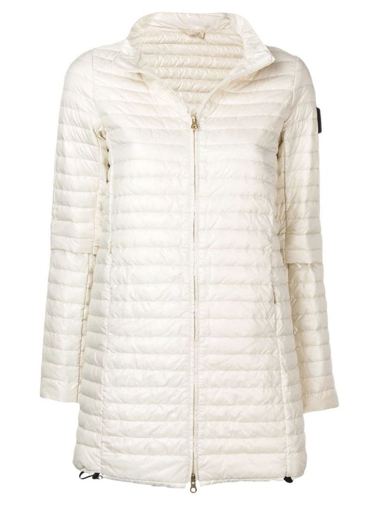 Duvetica padded mid-length coat - Neutrals