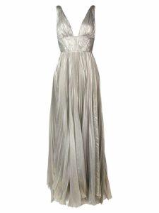 Maria Lucia Hohan Riley metallic maxi dress - Silver